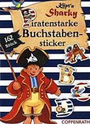 Stickerheft Käpt'n Sharky