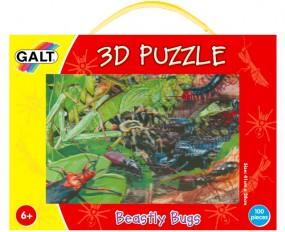 3D Puzzle Krabbeltiere