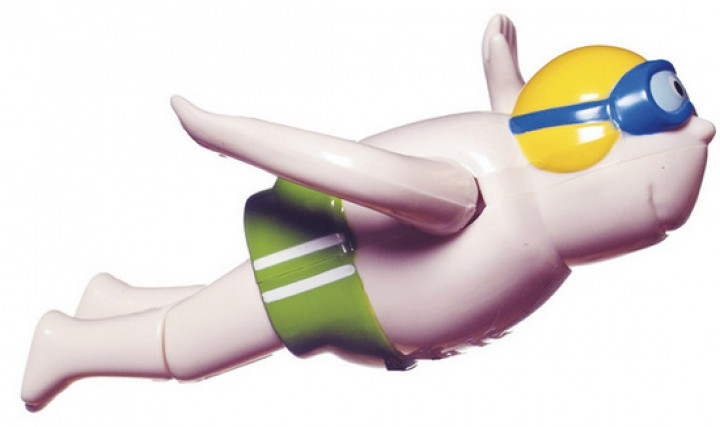 Schwimmer und Schwimmerin 13097