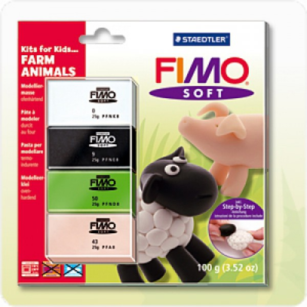 FIMO SOFT Farm Animals
