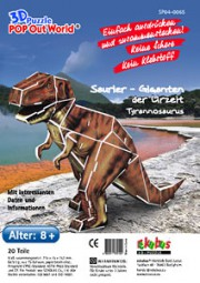3D Puzzle POP Out World Saurier- Giganten der Urzeit