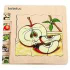 Beleduc Lagen - Puzzle Apfel 17039