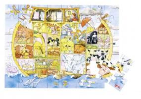 goki Puzzle Leben auf der Arche Noah 57557