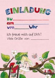 Einladungskarten Elfen