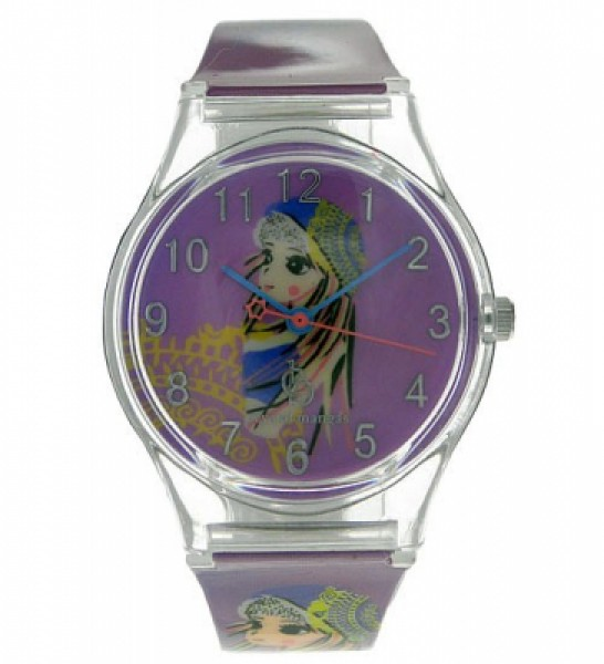 Kinderarmbanduhr Youngster Manga Girly lila 21959