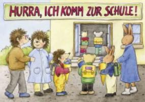Minibuch Hurra, ich komm zur Schule!