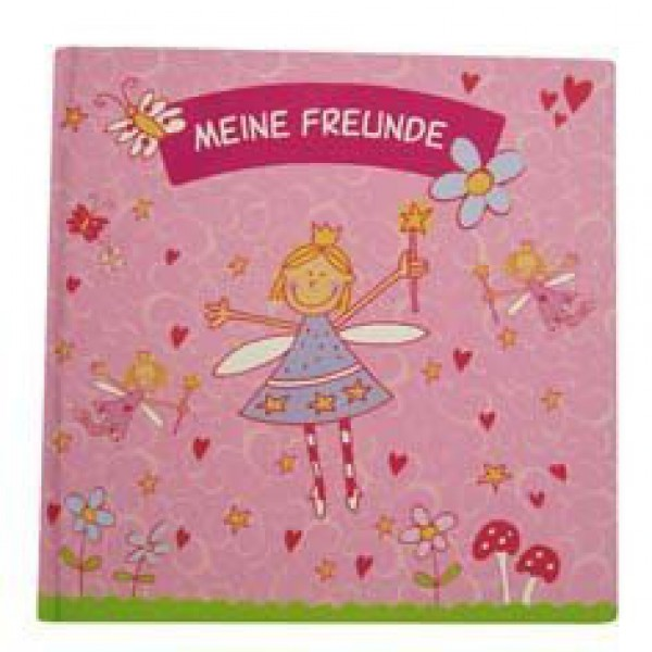 Freundebuch Prinzessin