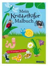 Moses Mein Krabbelkäfer-Malbuch