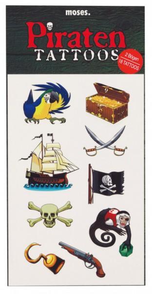 Moses 35008 Tattoos Piraten