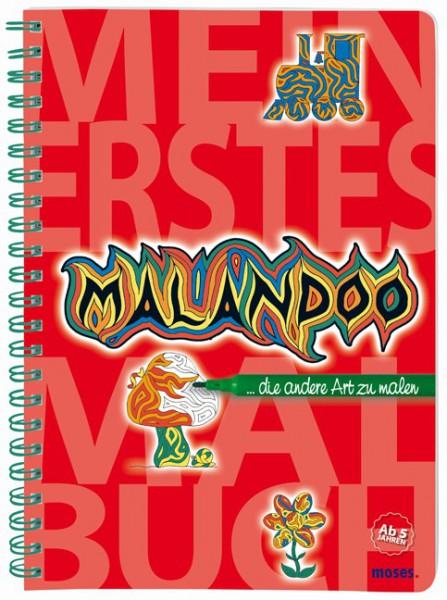 moses Mein erstes Malandoo - Malbuch