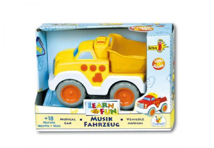 LEARN & FUN Fahrzeug mit Licht & Sound