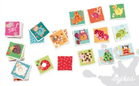 Sigikid Muster- und Farbenspiel Mustermatch 40425