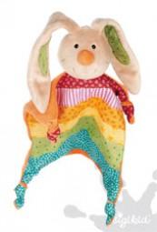 Sigikid Schnuffeltuch Rainbow Rabbit 40576
