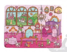 Sigikid Pinky Queeny Panorama Puzzle 40616