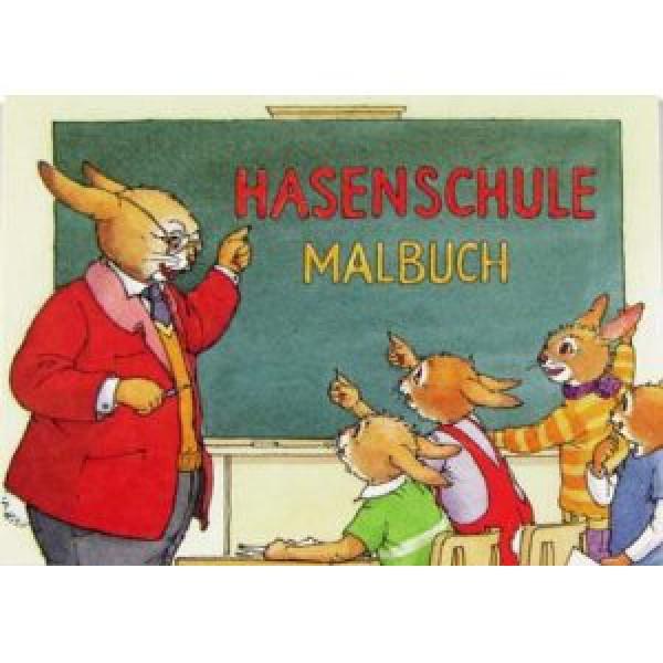 Mini-Malbuch Hasenschule 18741