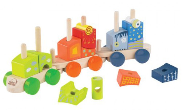 Hape Fantasiebausteine Eisenbahn E0417