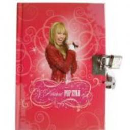 Hannah Montana Tagebuch mit Schloss
