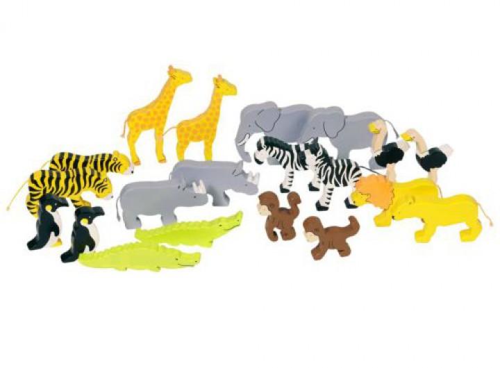 goki Afrikanische Tiere, 20-teilig