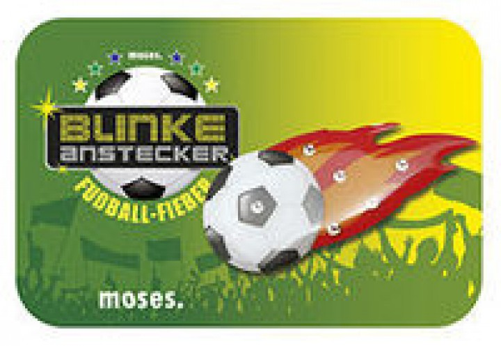 moses Fußball-Fieber Blinke-Anstecker 30416