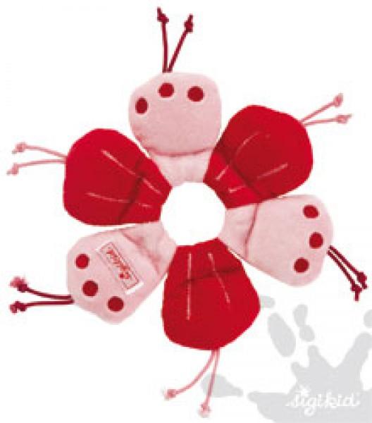 Sigikid Stoffgreifling Ringel-Blume mit Glöckchen 49357
