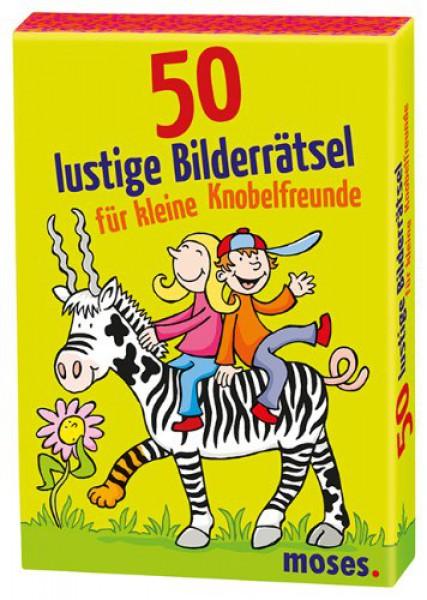 moses 50 lustige Bilderrätsel für kleine Knobelfreunde 21077