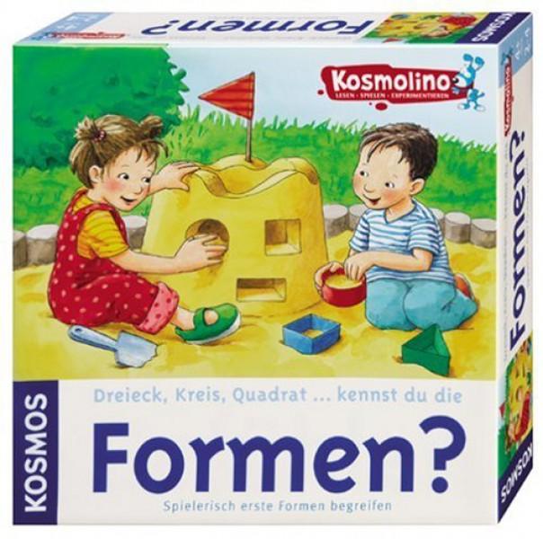 Kosmos Formen? Dreieck, Kreis, Quadrat. kennst du die Formen?