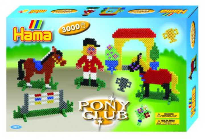 HAMA Bügelperlen-Geschenkset Pony Club 3217