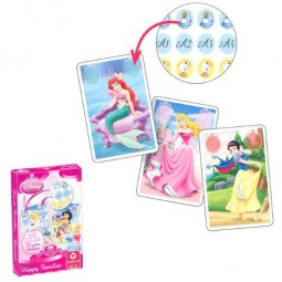 Kartenspiel Disney Princess Quartett