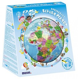 moses 30669 Springball Blauer Planet