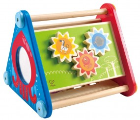 Hape E0434 Tierische Action-Box