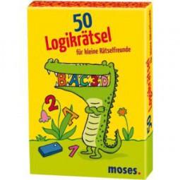 moses 50 Logikrätsel für kleine Rätselfreunde 21082