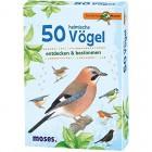 moses Verlag 9715 Expedition Natur - 50 heimische Vögel
