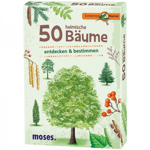 moses Verlag 9716 Expedition Natur - 50 heimische Bäume