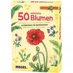 moses Verlag 9717 Expedition Natur - 50 heimische Blumen
