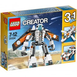 Lego Creator Zukunftsflieger 31034