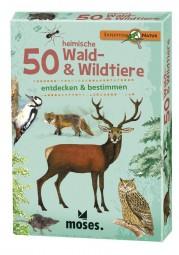 moses Expedition Natur - 50 heimische Wald- & Wildtiere 9739