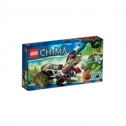 Lego Legends of Chima: Crawleys Reptiliengreifer 70001