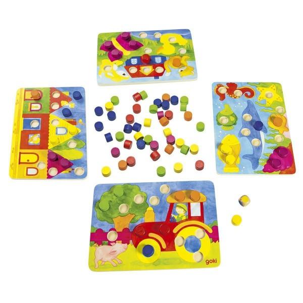 goki Farbwürfelspiel 56705
