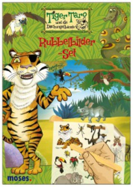 moses Rubbelbilder-Set Tiger Taro 21109
