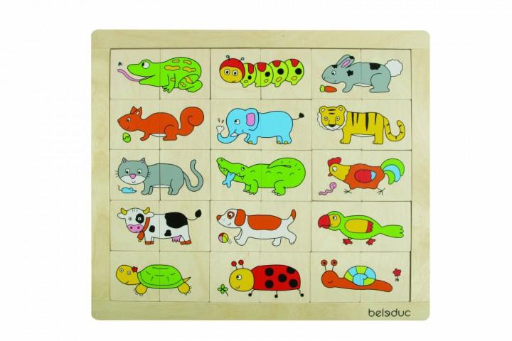 Beleduc Match & Mix Animals 11006