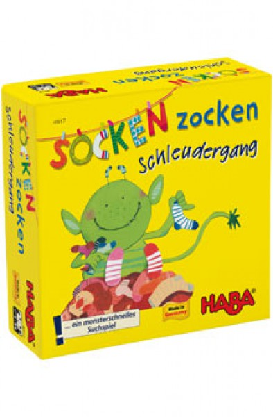 Haba Socken Zocken - Schleudergang 4917