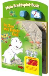 Haba Brettspiel-Buch Im Zoo mit Eisbär Emil 5287
