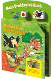 Haba Brettspiel-Buch Picknick im Obstgarten 5286