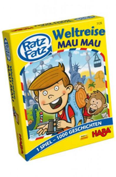 Haba Ratz Fatz Weltreise-Mau Mau 7126