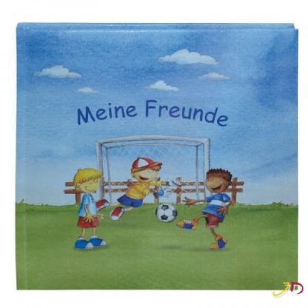 Schulfreundebuch Fußballjungs 123301