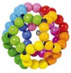 HEIMESS Greifling Elastik Regenbogenball 735670