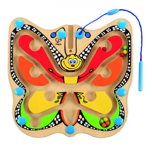 Hape Magnetspiel Bunter Flatterschmetterling E1704