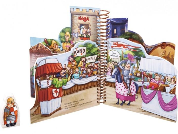Haba Mein Ritter-Spielbuch Turnier auf Burg Reckenstein 302242