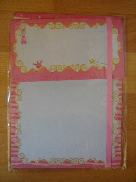 Briefpapier-Set Ballerina 70066