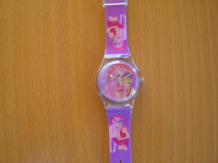 Kinderarmbanduhr Youngster Manga Girly mit Pferd in rosa 21940